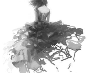 anime, art, and dress image