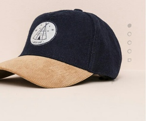 chapeau, pull&bear, and casquette image