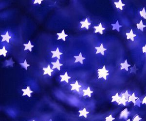 stars, blue, and white image