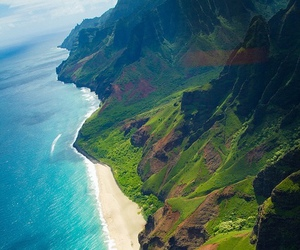 hawaii, Island, and landscape image