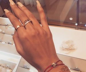 accessories, fingers, and hands image