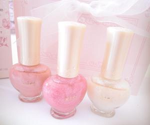 nail polish, pink, and pastel image