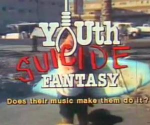 suicide, alternative, and grunge image
