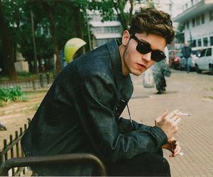 boy, Hot, and smoke image