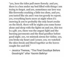 beautiful, lie, and breakup image
