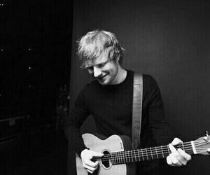 ed sheeran, ed, and guitar image