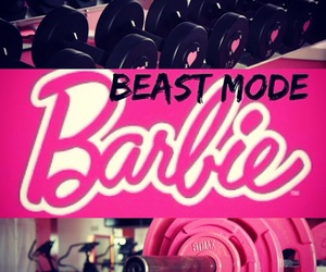 barbie, gym, and fitness image