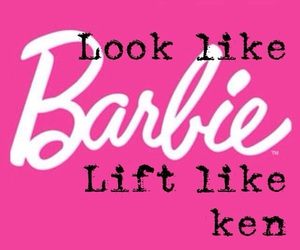 barbie, fitness, and gym image