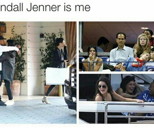 funny, kendall jenner, and tyga image