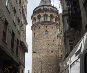istanbul, tower, and turkey image