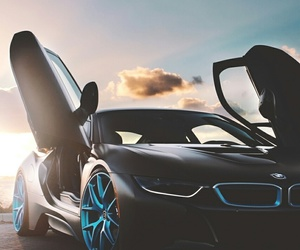 bmw and i8 image