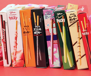 pocky, food, and japan image