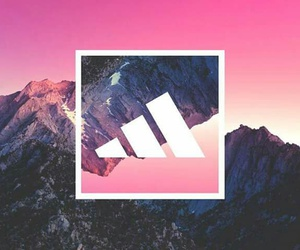 adidas, landscape, and mountains image