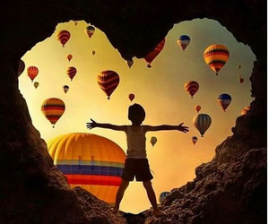 balloons and happiness image