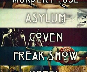 coven, freak show, and hotel image