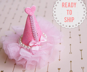 etsy, kids hair clip, and party hair clip image