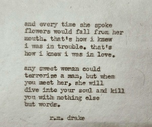 love, quotes, and rmdrake image