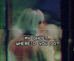 halsey, ghost, and Lyrics image