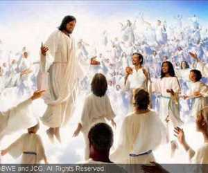 heaven, jesus christ, and kingdom of god image