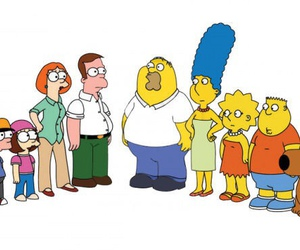 family guy, simpsons, and funny image