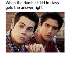dylan and teen wolf image