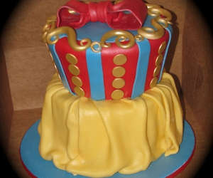 cake, delicious, and disney image