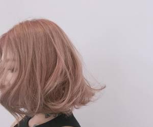 ulzzang, asian girl, and hair image
