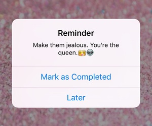 Queen and reminder image