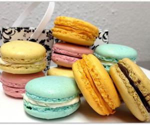 colors, sweet, and macaron image