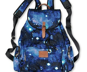 galaxy, backpack, and bag image