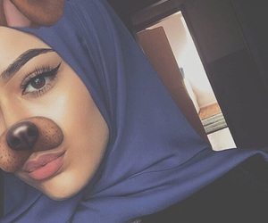 beauty and hijab image