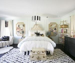 bedroom, chic, and decor image
