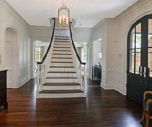 hall, home, and interior image