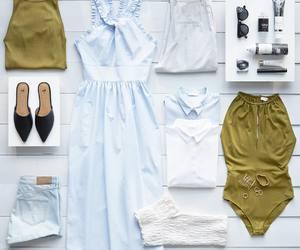 bikini, fashion, and H&M image