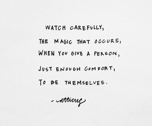 quote, words, and magic image