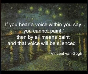 paint, quote, and voice image