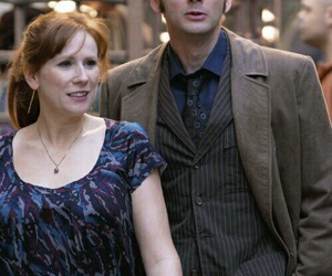 doctor who, the doctor, and donna noble image