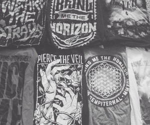 bmth, ptv, and band merch image