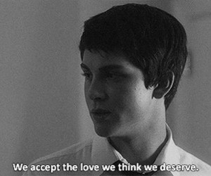 the perks of being a wallflower and love image