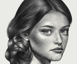 art, fashion, and illustration image