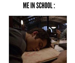 school, teen wolf, and funny image