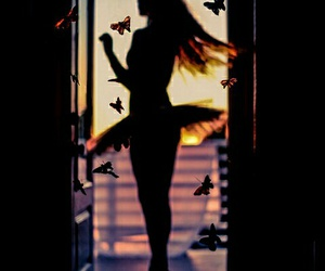 dance, butterfly, and ballet image