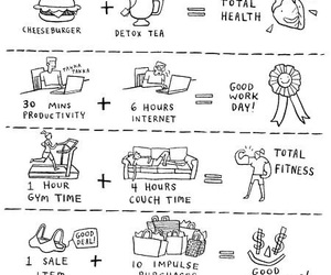 funny, math, and life image