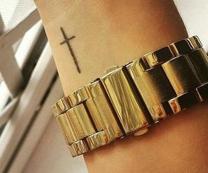 cross and tattoo image