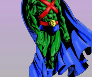 justice league, martian manhunter, and outsiders image