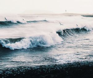 waves and ocean image