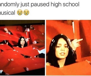 funny, tumblr posts, and HSM image