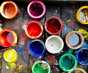 paint and colors image