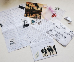 feelings, happiness, and letters image
