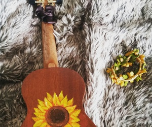 art, flower, and hippie image